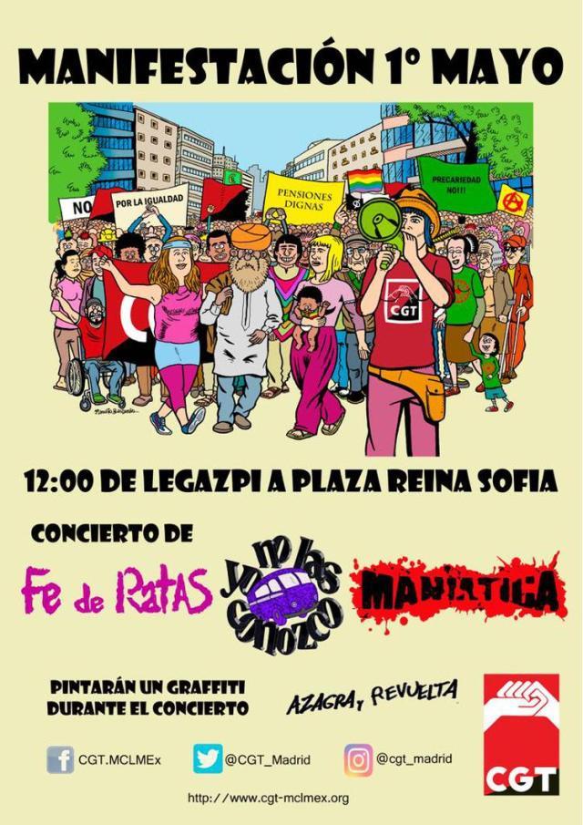 Manifestación del 1 de Mayo/18